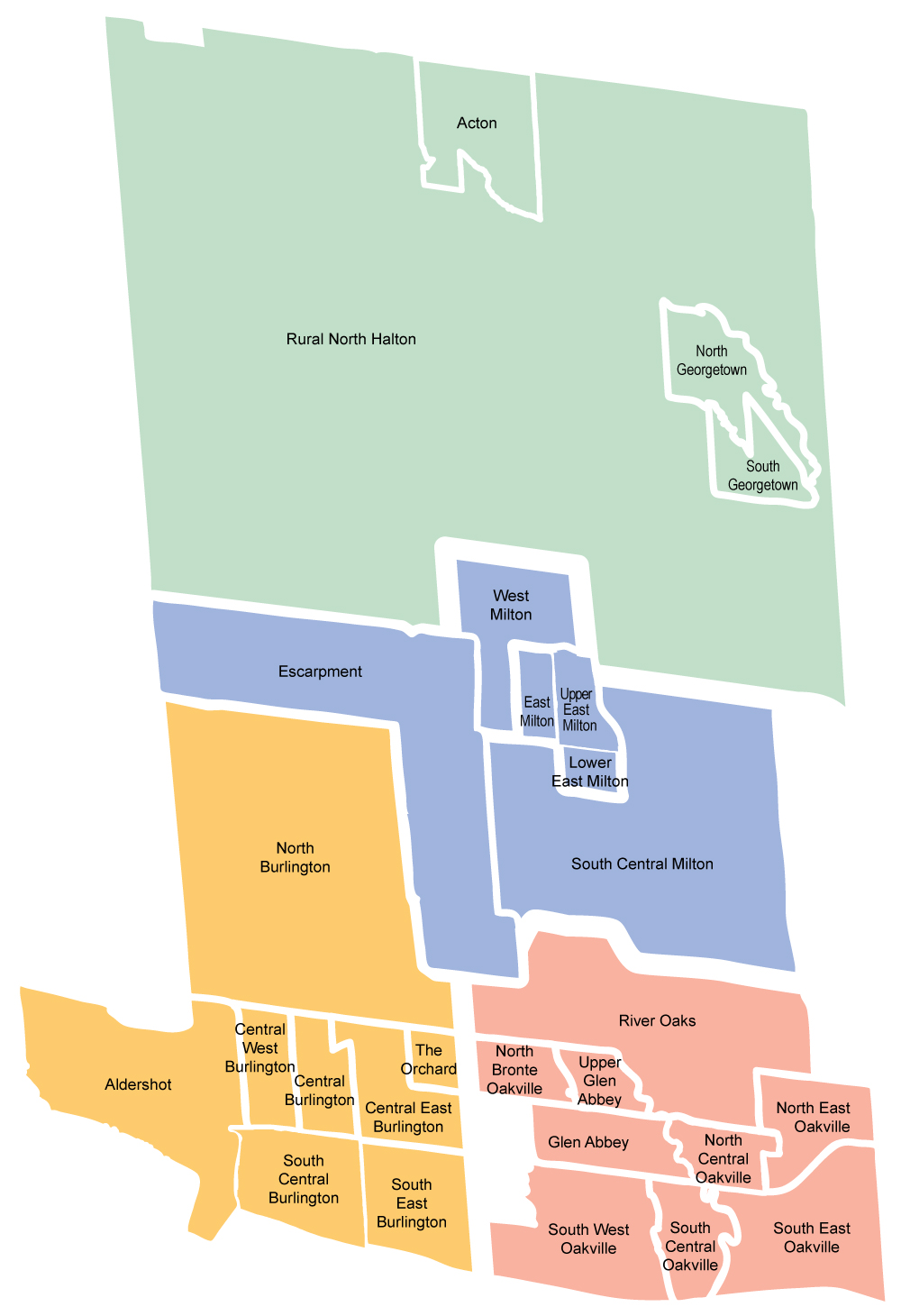 OKN neighbourhoods map